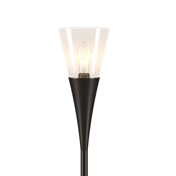 Seeded Glass Floor Lamp