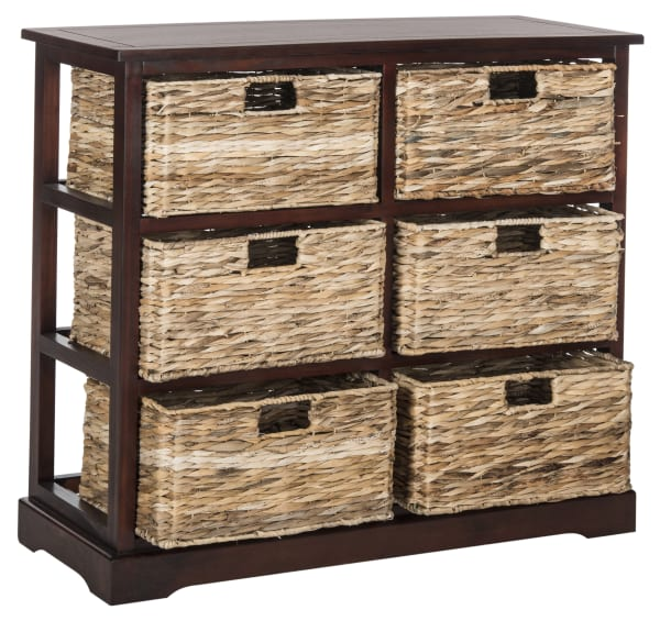 Brayden Brown 6 Basket Storage Chest