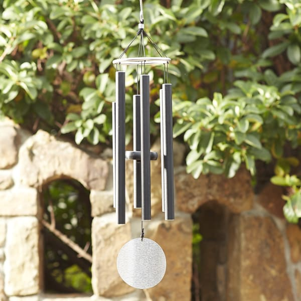 Black Pipe Wind Chimes