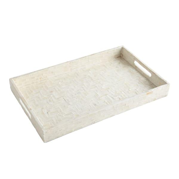 Ivory Capiz Tray