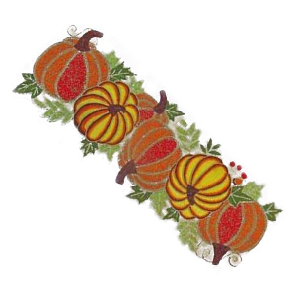 Beaded Multicolor Pumpkins 36