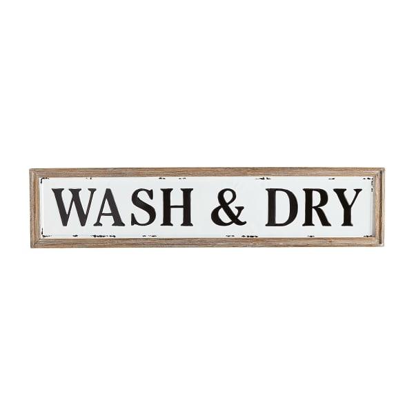 Wash &  Dry Laundry Wall Art