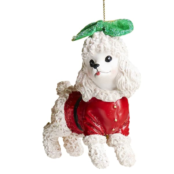 Angel Wings Dog Ornament