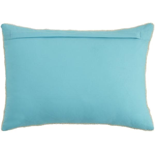 Coastal Beaded Starfish Lumbar Pillow