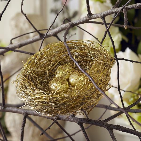 Glitter Eggs Nest