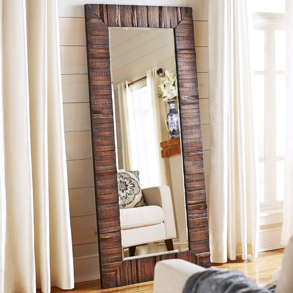 Eternal Wood Framed Floor Mirror