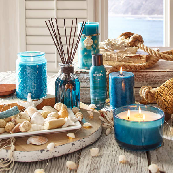Pier 1 Oceans® Filled 3-Wick Candle 14oz