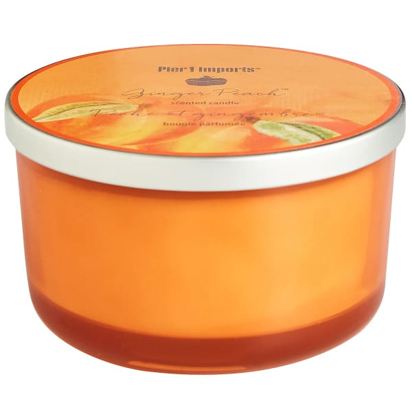 Ginger Peach® Filled 3-Wick Candle