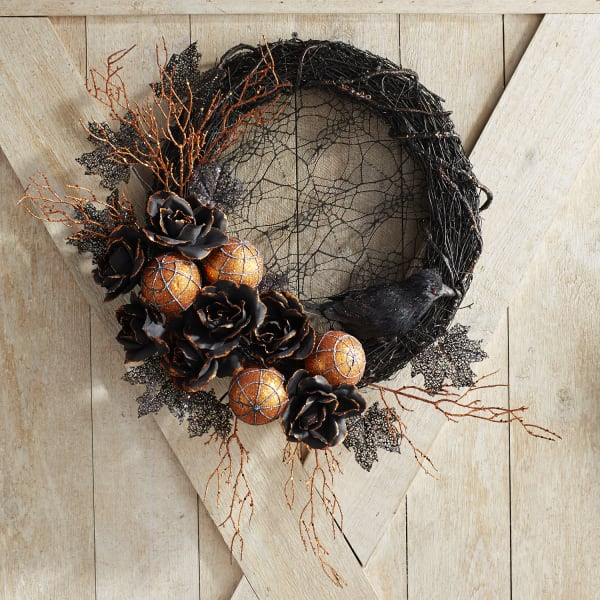 Gothic & Glam Lace Wreath