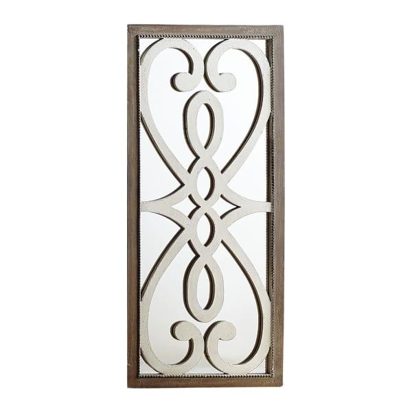 Mirrored Swirl Wall Panel