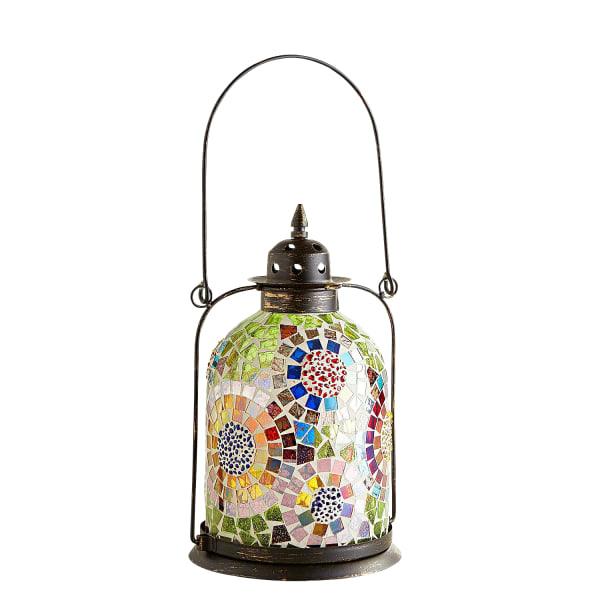 Small Mosaic Circles Lantern