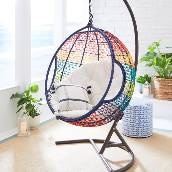 Swingasan Rainbow Ombre Hanging Chair Pier 1
