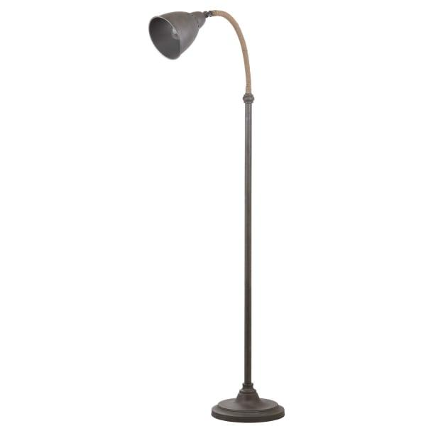 Galvanized Task Floor Lamp