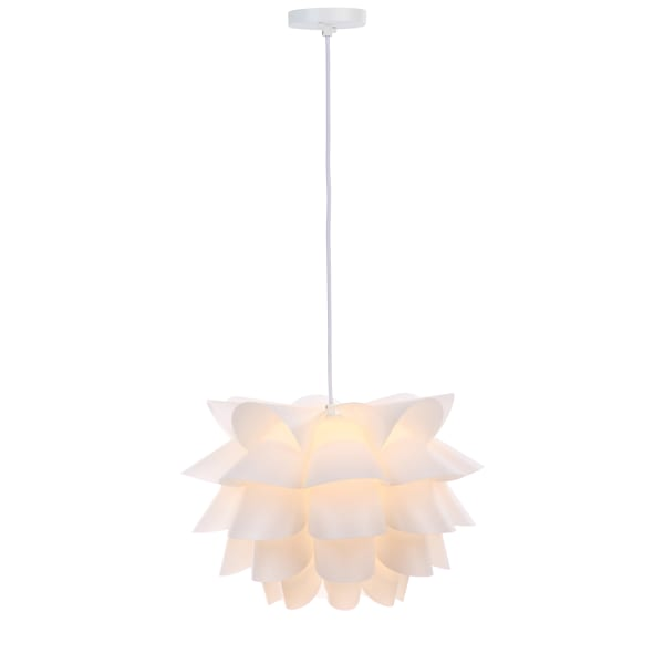 White Contemporary Design Pendant Light