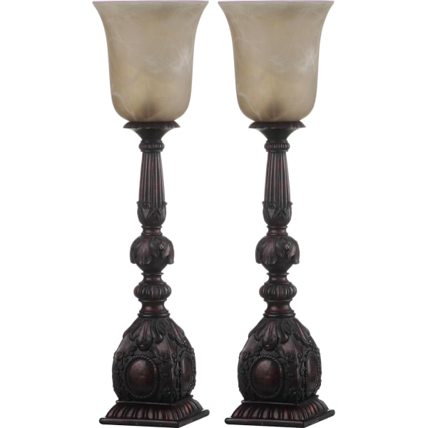 Dion Artifact Table Lamps Set of 2