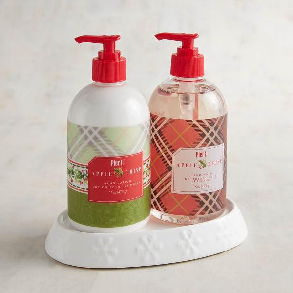 Apple Crisp Soap & Lotion Caddy
