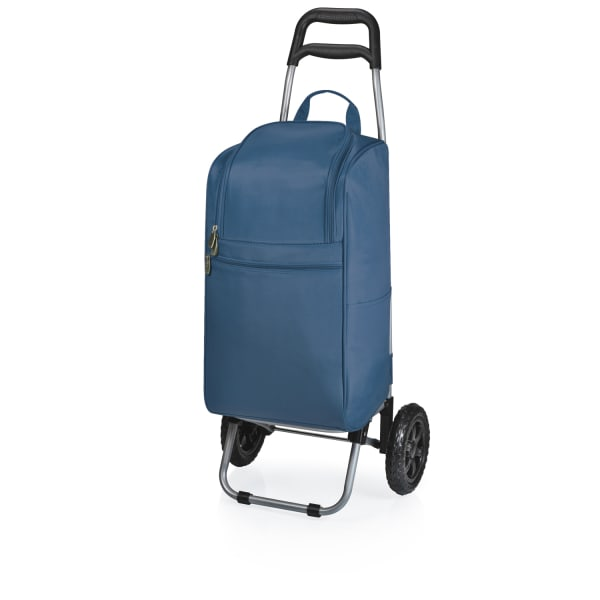 Navy Cooler with Trolley