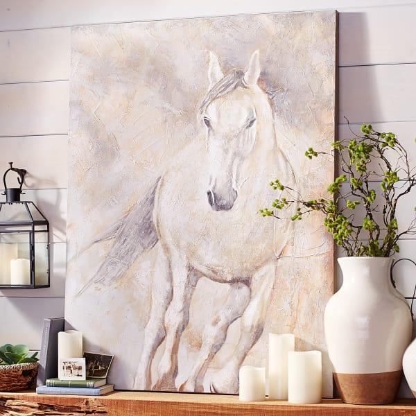 Running Horse Wall Art