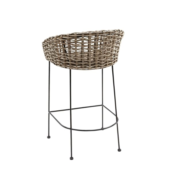 Isra Natural Bar Stool
