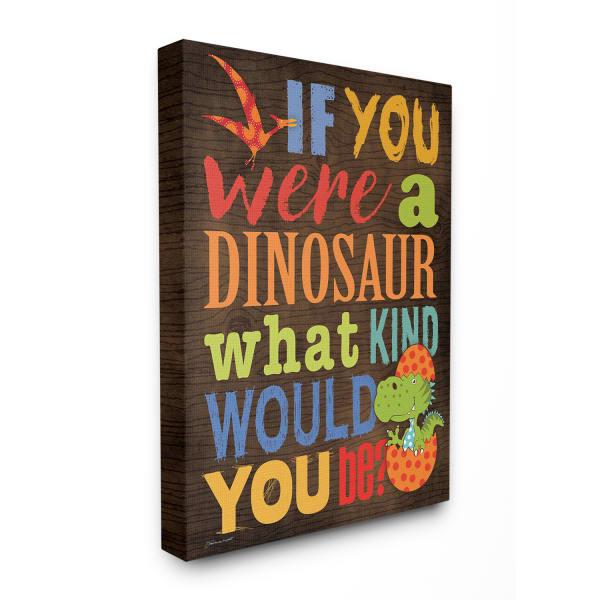 Dinosaur Quiz Wall Art