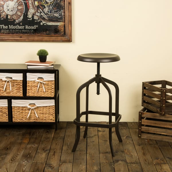 Adjustable Factory Dining Stool