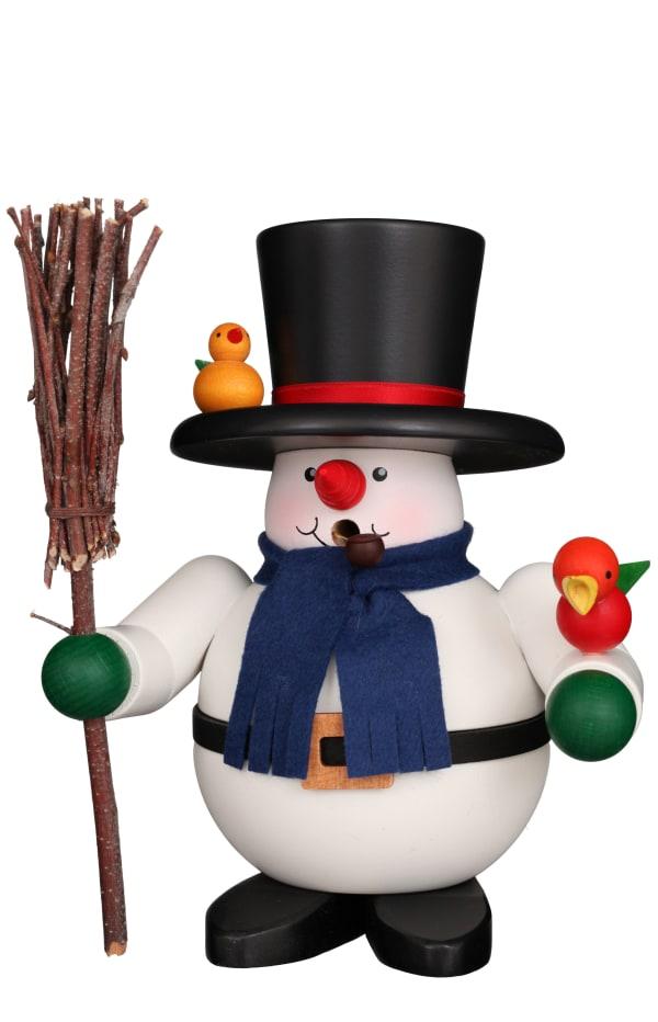 Christian Ulbricht Smoker - Rolly Polly Snowman With Birds