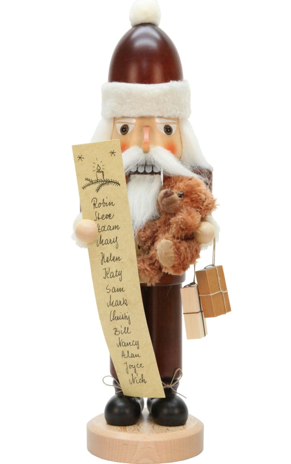 Christian Ulbricht Nutcracker - Santa with list (Natural)