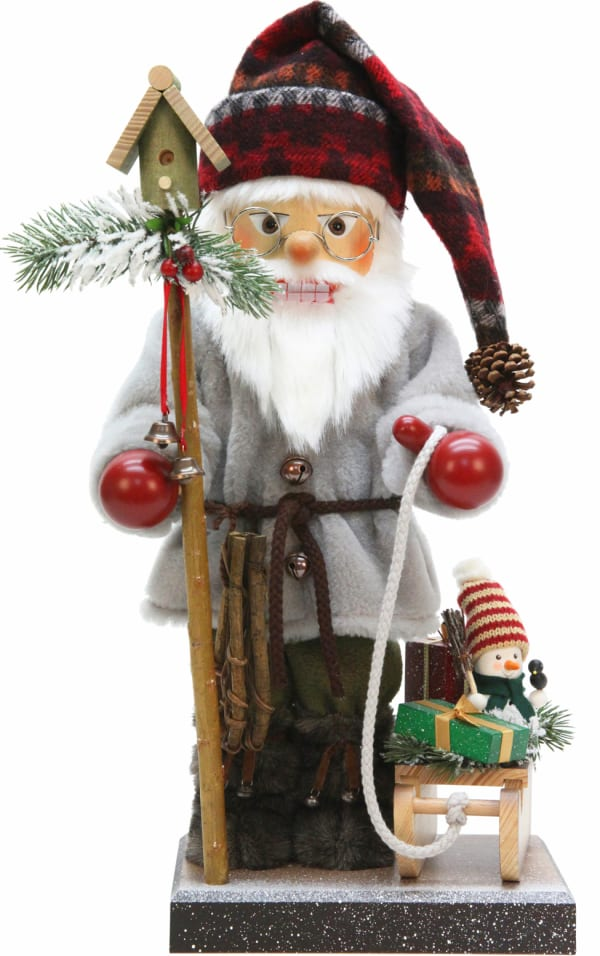 Christian Ulbricht Nutcracker - Santa with Sled- Ltd Edition 1000 pcs