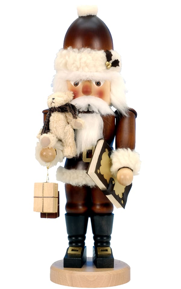 Christian Ulbricht Nutcracker - Santa with Teddy