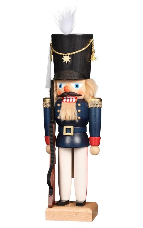 Christian Ulbricht Nutcracker - Soldier in Blue