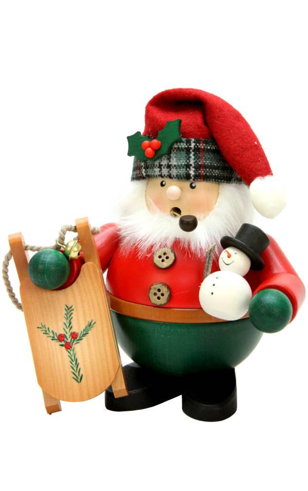 Christian Ulbricht Incense Burner - Santa with Sled