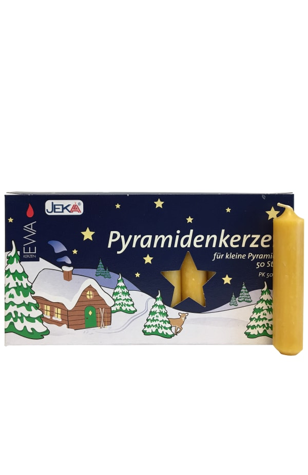 German Candle for Pyramids - Natural