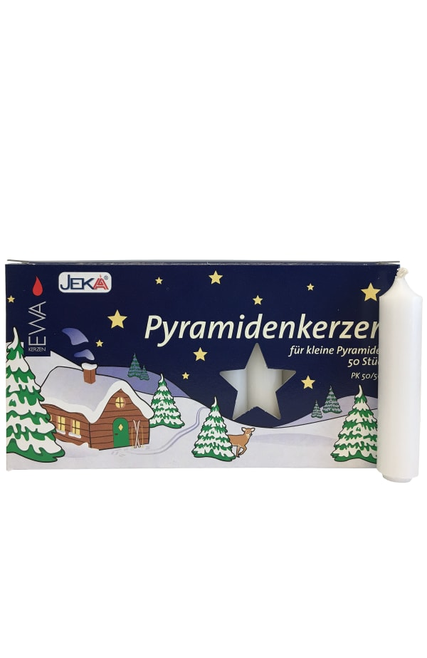 German Candle for Pyramids - White