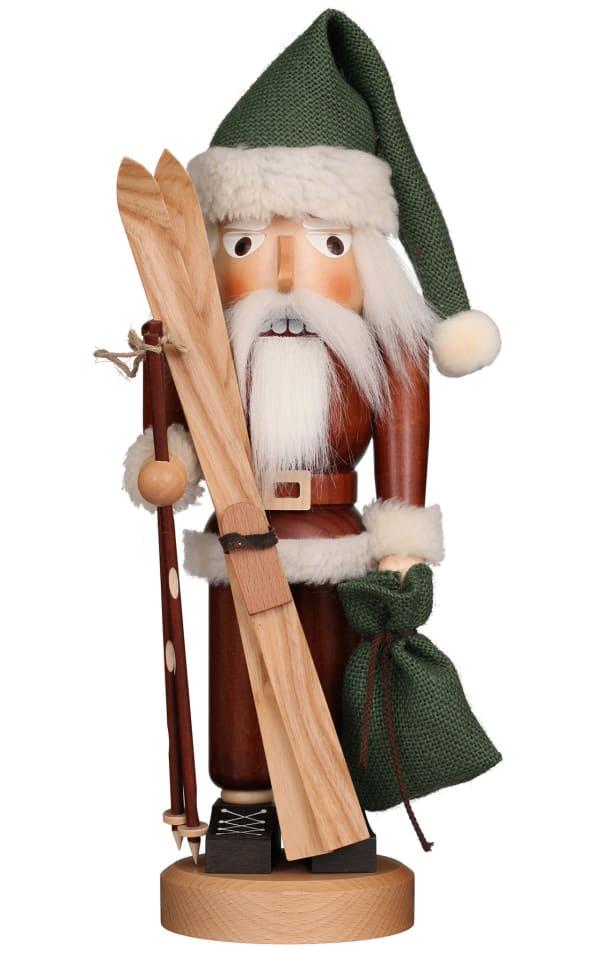Christian Ulbricht Nutcracker - Santa Skier (Natural)