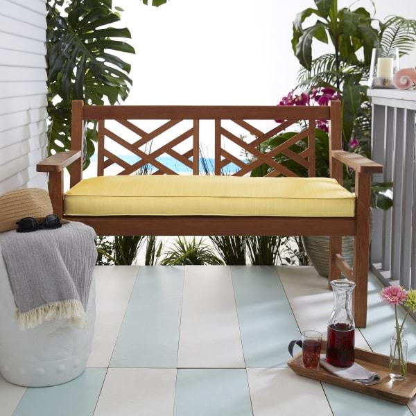 Sunbrella Bench Cushion 45 X 18 2, Pier 1 Outdoor Furniture Cushions