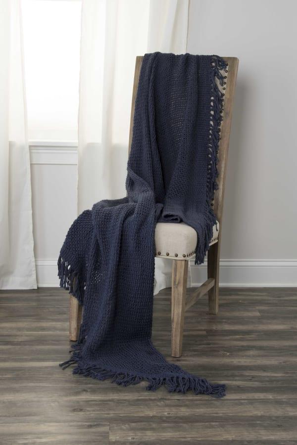 Indigo 100% Cotton Solid Woven 50