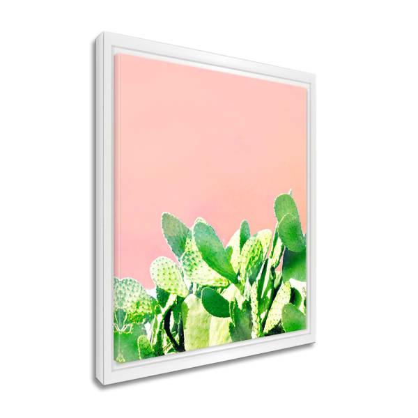 Heat Wave Framed Succulent Canvas Wall Art