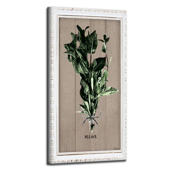 Mint Herb Green Canvas Wall Art