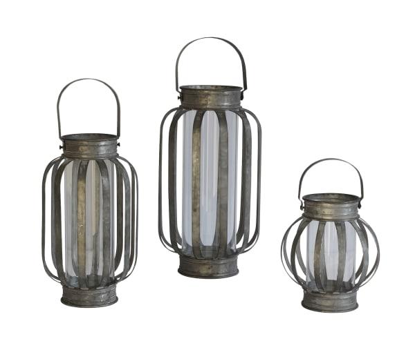 Banded Lantern Large