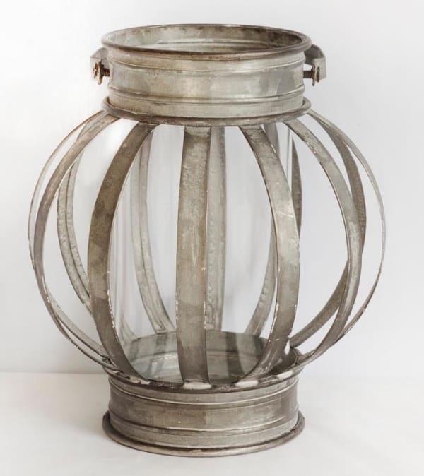 Banded Lantern Small