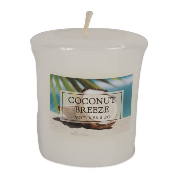 Coconut Breeze Votives 8 Pc
