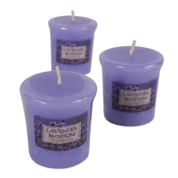 Lavender Blossom Votives 8 Pc