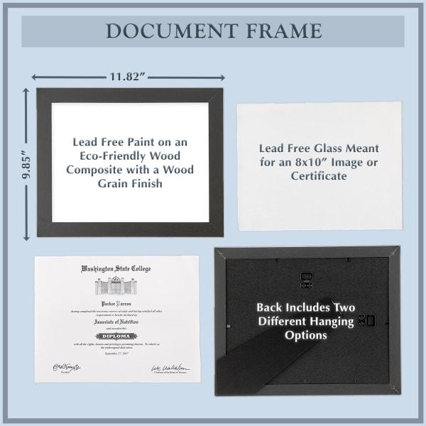 8x10 White Frame