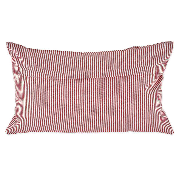 Assorted Red/White Pillow Cover Set of 4