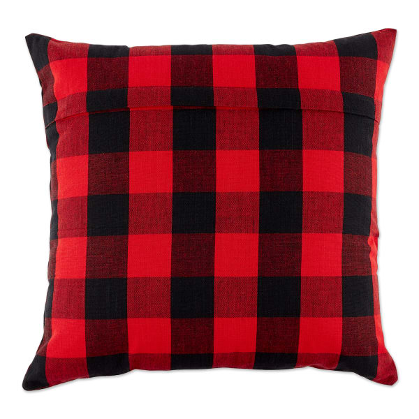 Buffalo Check Red/Black Pillow Set of 2