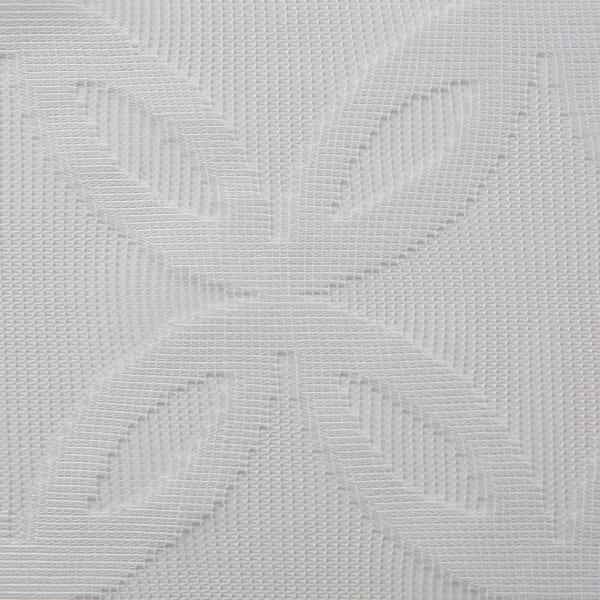 White Lace Lattice Window Curtain 50x84 Set/2