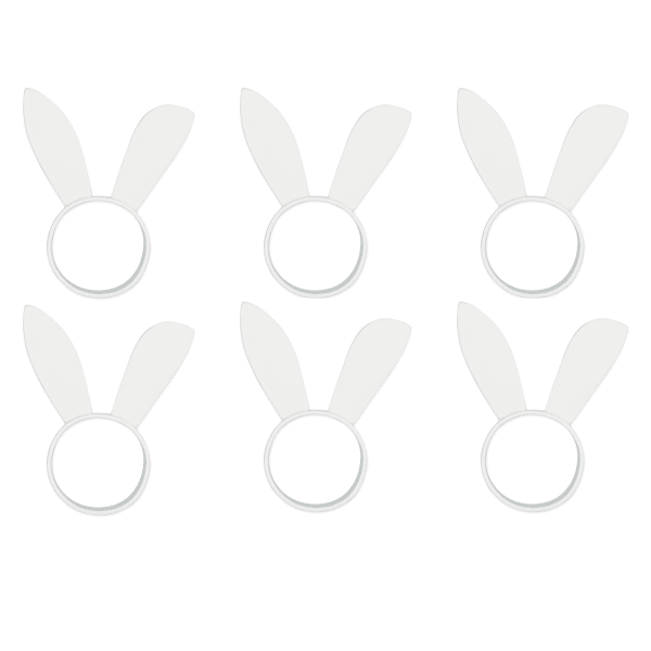 Bunny Ears Napkin Ring (Set of 6)