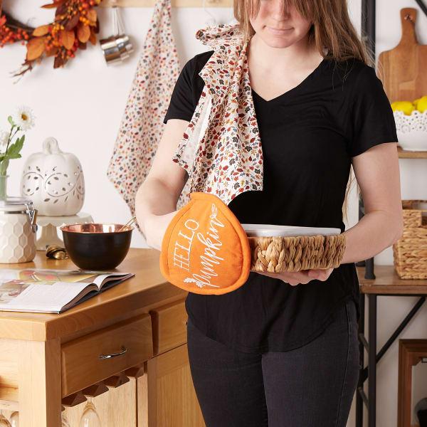 Hello Pumpkin Potholder Gift Set/3