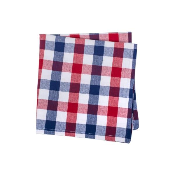 Red & Blue Check Napkin (Set of 6)