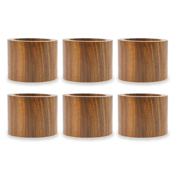 Wood Band Napkin Ring (Set of 6)